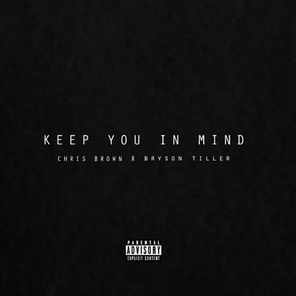 """Chris Brown """"Keep You in Mind"""" Artwork"""