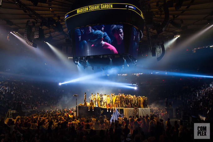 465a2d214f5 Kanye West Yeezy Season 3 Show at Madison Square Garden Recap