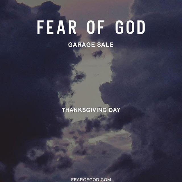 Fear of God Sale