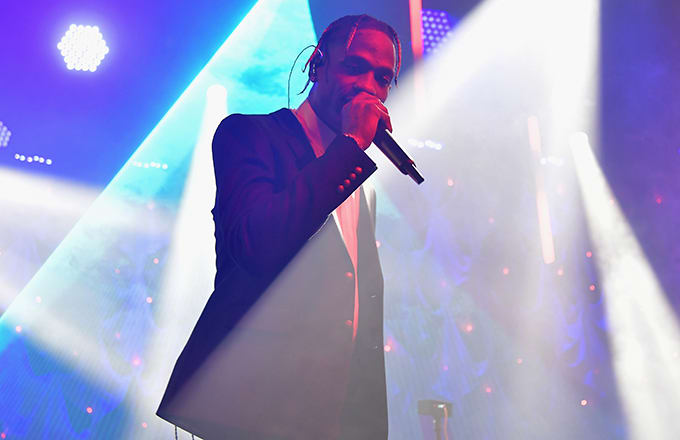 This is a photo of Travis Scott.