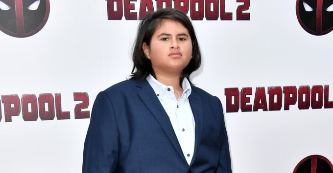 deadpool 2 star julian dennison is nervous for his aunties to see