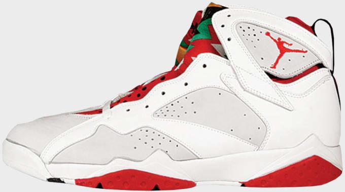 online store e0a40 8e622 Air Jodan 7 Hare. Image via Nike