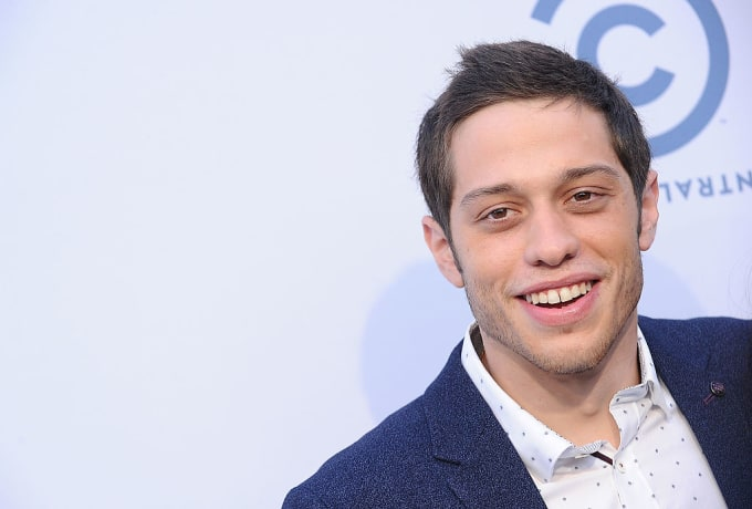 Pete Davidson at Rob Lowe roast.