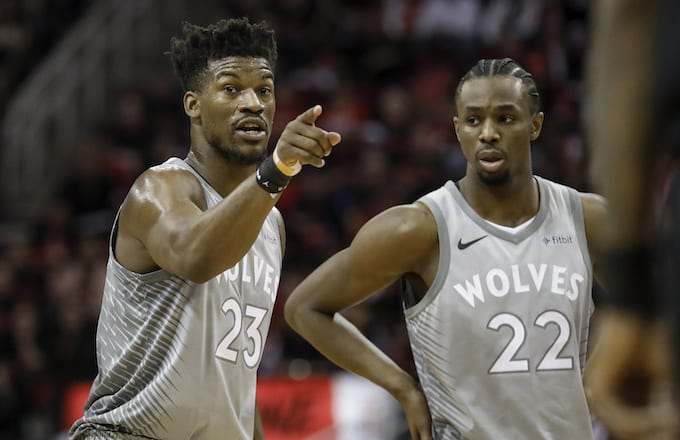Jimmy Butler, Andrew Wiggins