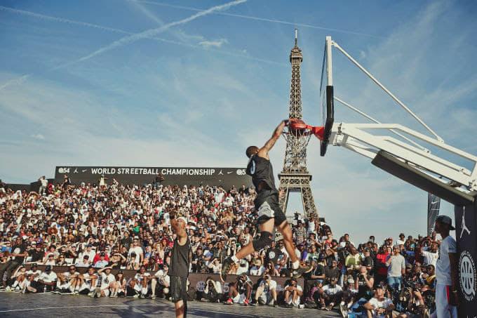 Jordan Quai 54 World Streetball Championships in Paris, July 2017
