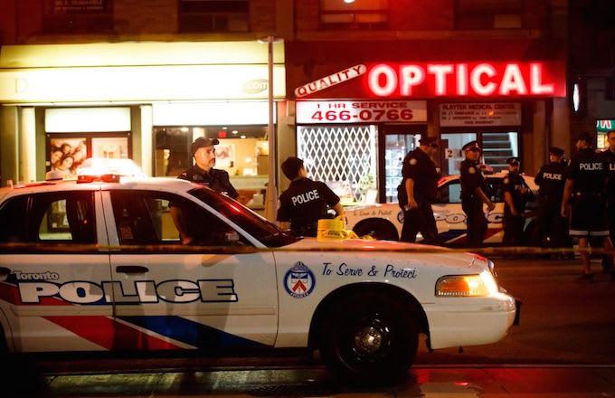 Toronto Shooting, police