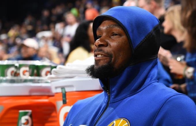 6a5d7f13d42 Kevin Durant Finally Speaks on Rihanna Heckling Him During the NBA Finals