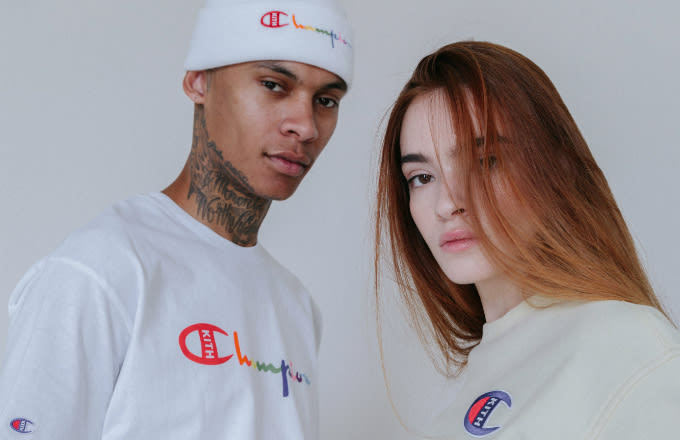 76dd1ca8e8d30 Get a Closer Look at Kith and Champion s Upcoming Collab Collection ...