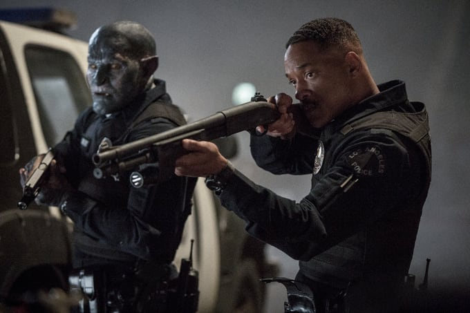 Will Smith and Joel Edgerton in Bright on Netflix