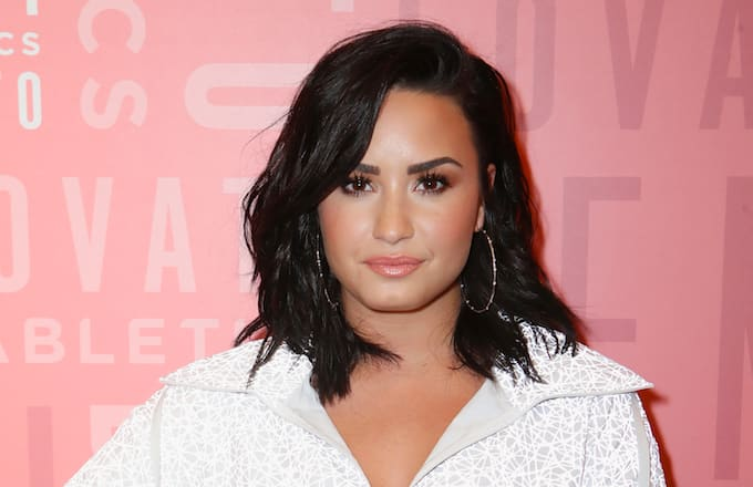 Image result for images of Demi vs 21 Savage