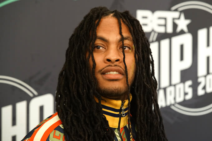 Waka Flocka at BET Awards