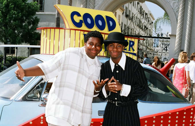 """Kenan Thompson and Kel Mitchell during """"Good Burger"""" Premiere"""