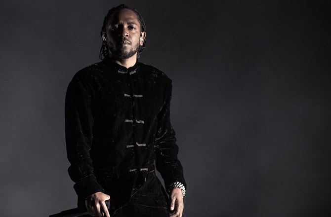This is a photo of Kendrick Lamar.