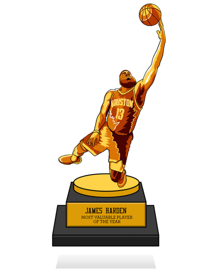 5bc467ddff1f51 James Harden Trophy Mid-Season Awards 2019