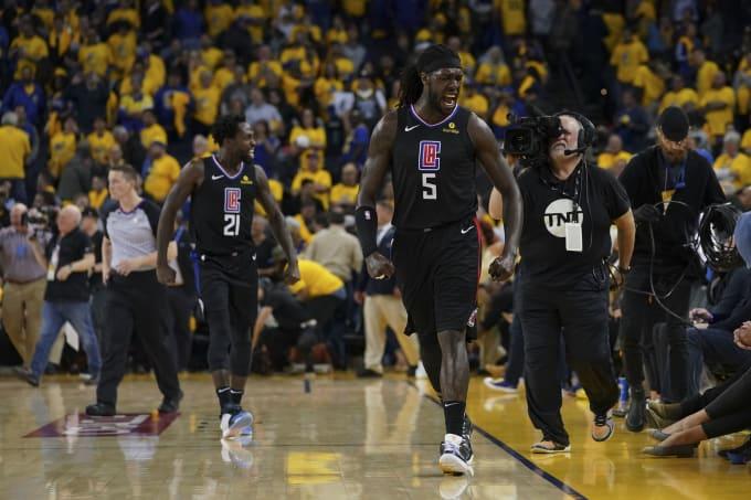 Montrezl Harrell Clippers Warriors Game 2 2019 Playoffs