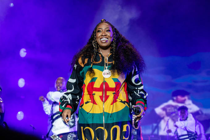 Missy Elliott in New Orleans