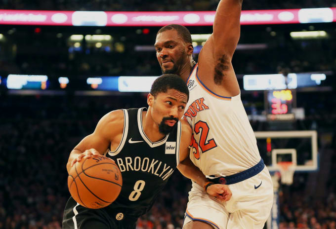 Spencer Dinwiddie Nets Knicks Preseason 2018