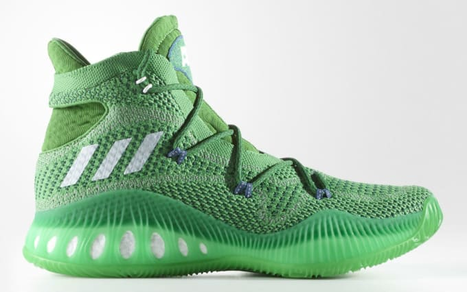 superior quality 7b53a 64679 Adidas Crazy Explosive Andrew Wiggins Green Profile BW0626