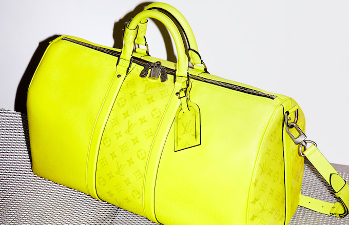 1c073776add6 Louis Vuitton Unveils Its New Taïgarama Leather Goods Line