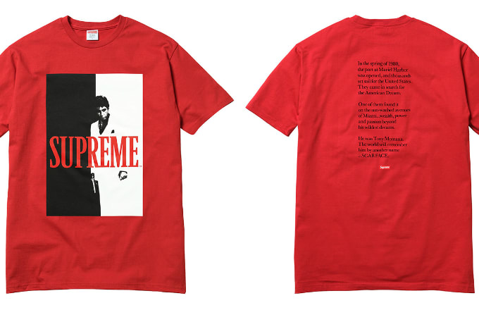 9ec0000094f7b Supreme s  Scarface  Collection Brings the Cocaine Classic to ...