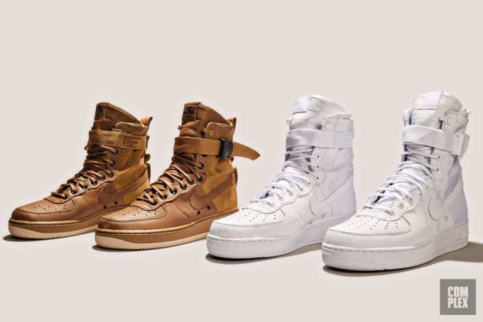 the latest 56645 fdae5 For more reasons than one, fans of the Nike Air Force 1 will thoroughly  enjoy this weekend s releases. With drops like the Lunar Force 1 Flyknit  Workboot, ...