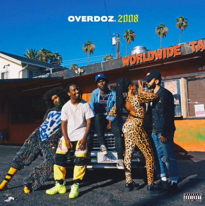 OverDoz. debut album '2008' cover art