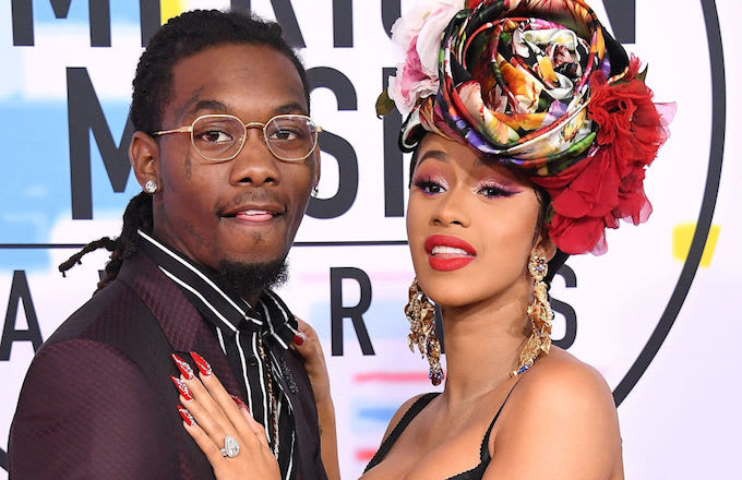 Offset, Cardi B cheating