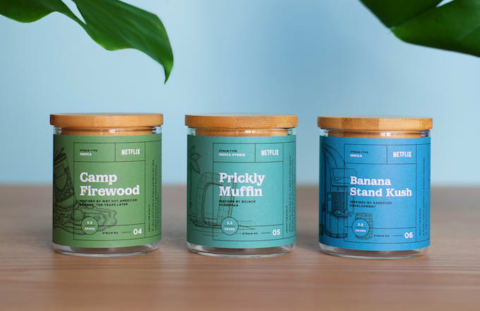 Netflix develops marijuana strains based on its original shows