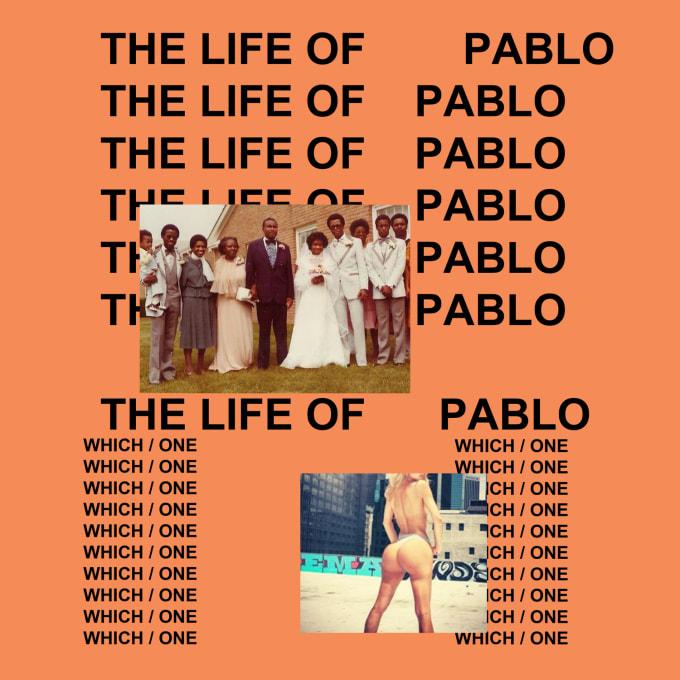 Kanye The Life of Pablo Artwork