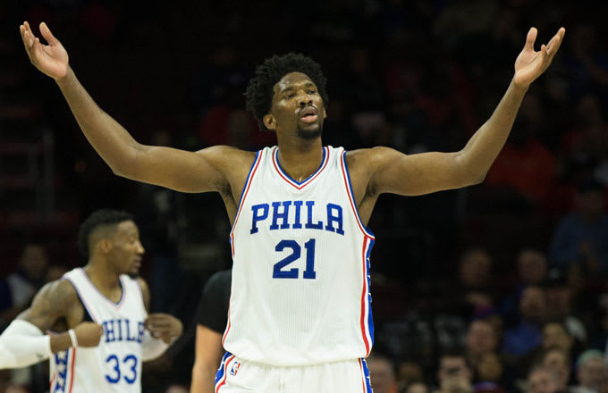 Joel Embiid Says He d Like to Star On  The Bachelor  to Get Girls to ... e331499e6