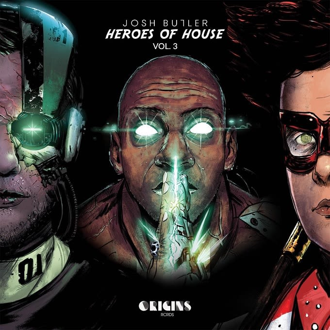 Josh Butler - 'Heroes Of House Vol. 3'