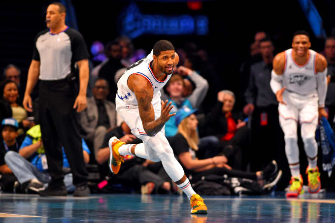 Paul George All-Star Game 2019
