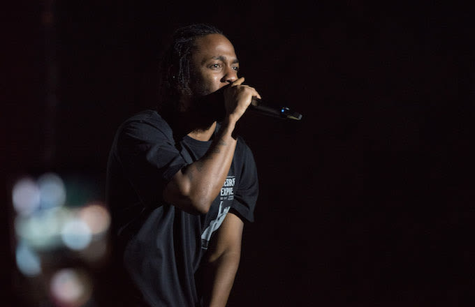 Kendrick at Lollapalooza.