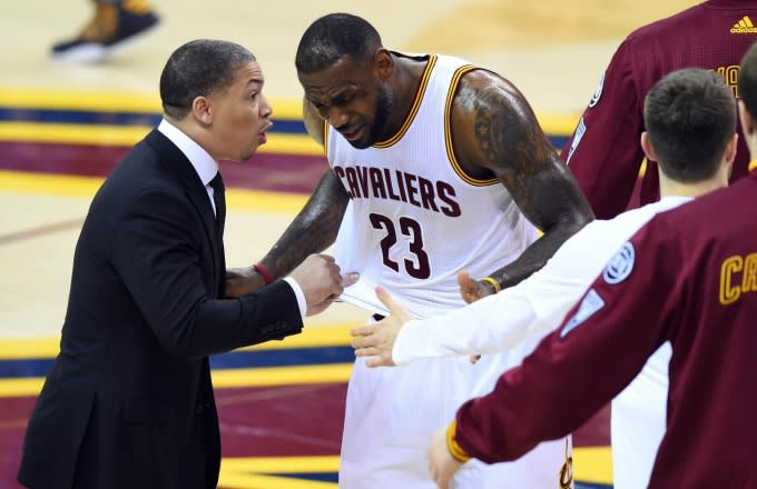 fd2daa903d3 Tyronn Lue Made LeBron James Really Mad by Calling Him Out During ...
