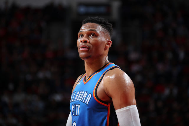 This is a picture of Russell Westbrook.