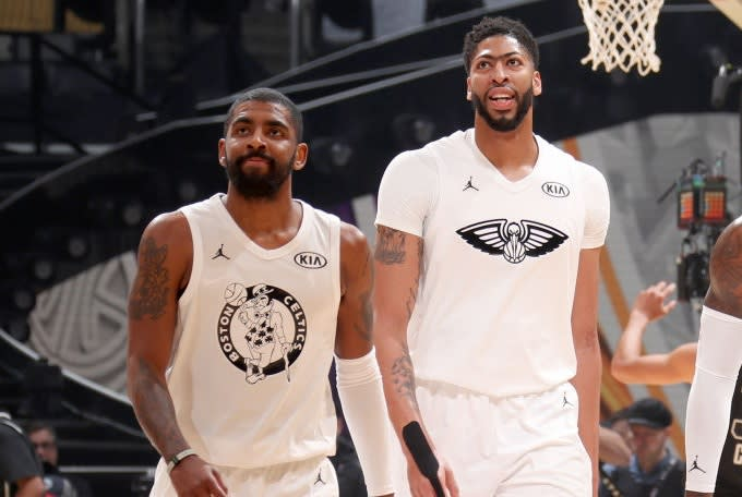 Kyrie Irving and Anthony Davis