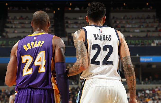 Kobe Bryant, Matt Barnes