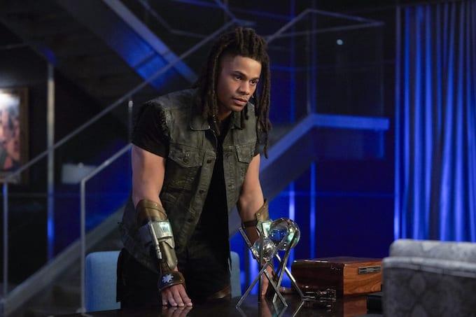 Jordan Calloway in 'Black Lightning'