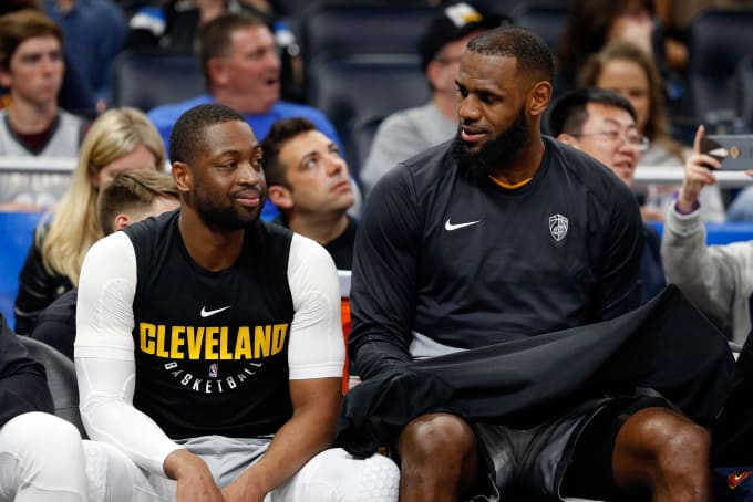 Dwyane Wade Tells Us Why He s Happy LeBron James Signed With the ... e0dbf66de