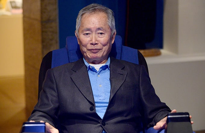 This is a photo of George Takei.