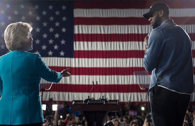 Hillary Clinton, LeBron James