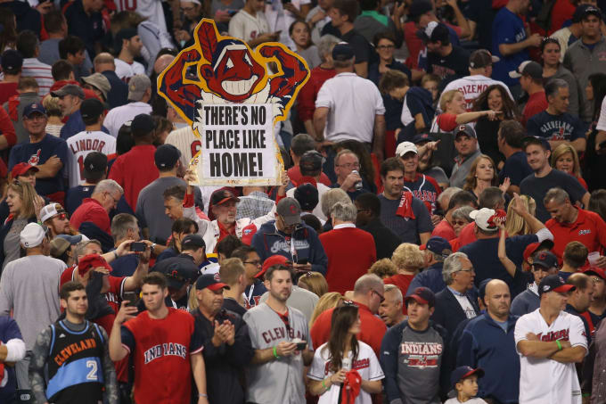 Chief Wahoo Indians Blue Jays ALCS 2016
