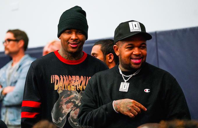 DJ Mustard and YG