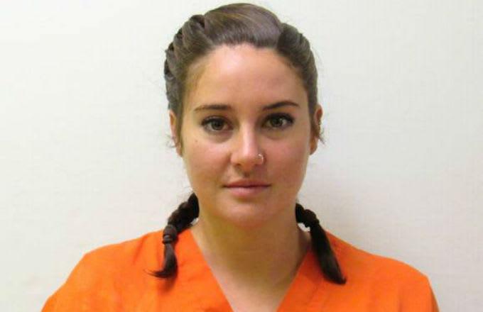 Shailene Woodley mugshot