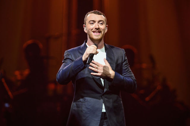 This is a picture of Sam Smith.