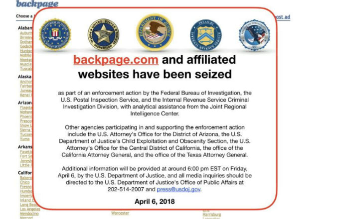 Backpage Founders Charged With Promoting Prositution And Money Laundering