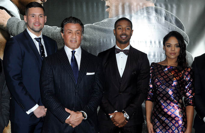Cast attends the European Premiere of 'Creed.'