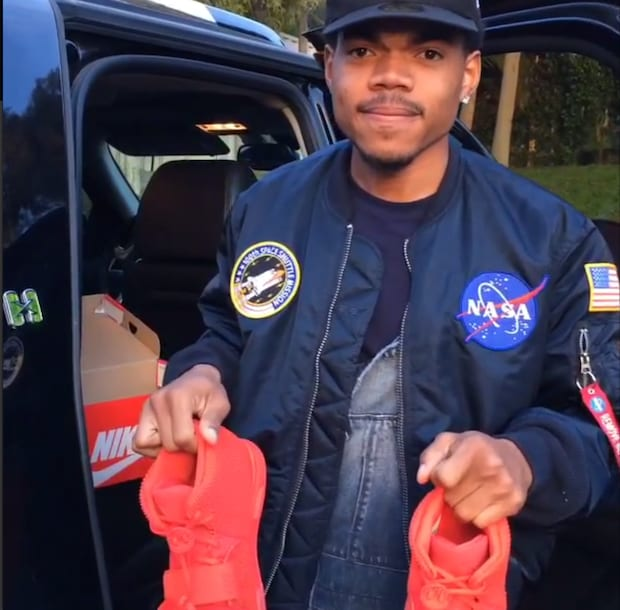 You Won't Believe What Chance The Rapper Did In His Red Octobers