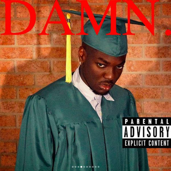 Student Recreates Album Covers for Graduation Photos