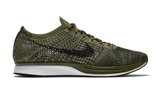3b93bf180008 Nike Flyknit Racer Rough Green Sole Collector Release Date Roundup